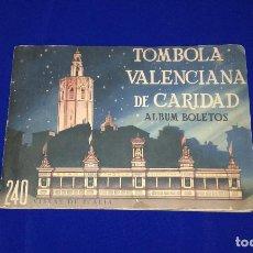 Coleccionismo Álbum: ALBUM COMPLETO CASA DE LA CARIDAD VALENCIA - 240 FOTOS DE ITALIA - ANTIGUO. Lote 170907670