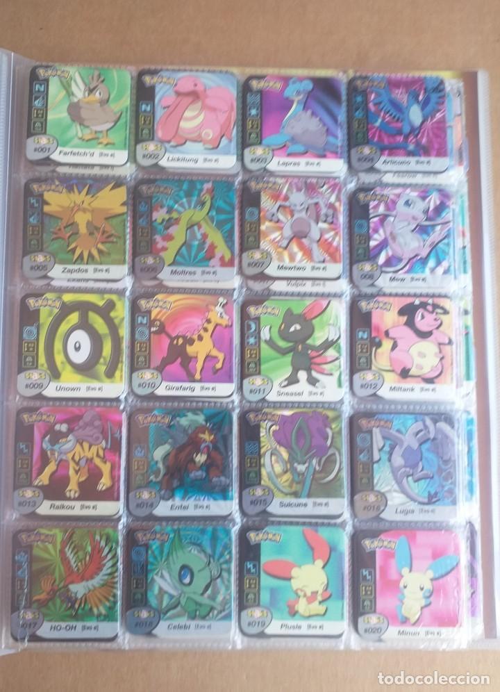 Coleccionismo Álbum: Colección completa de staks Pokémon Panini 2006 - Foto 2 - 170968428
