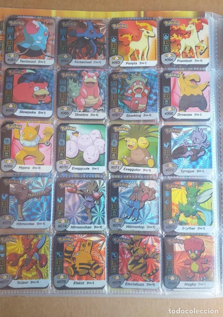 Coleccionismo Álbum: Colección completa de staks Pokémon Panini 2006 - Foto 5 - 170968428