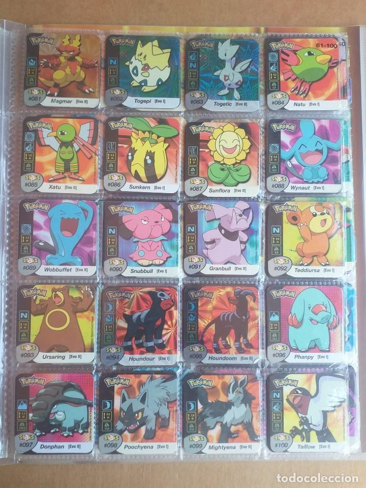 Coleccionismo Álbum: Colección completa de staks Pokémon Panini 2006 - Foto 6 - 170968428