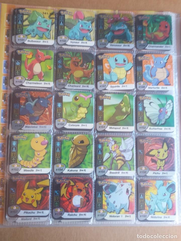 Coleccionismo Álbum: Colección completa de staks Pokémon Panini 2006 - Foto 9 - 170968428