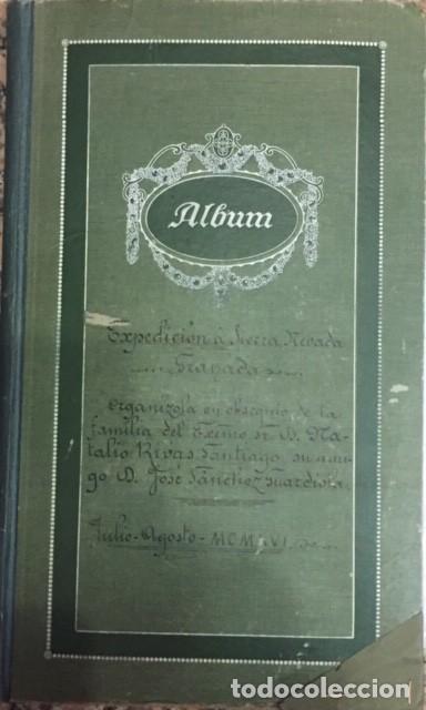 EXPEDICION A SIERRA NEVADA DE NATALIO RIVAS SANTIAGO 1916, GRANADA 29 FOTOGRAFIAS POSTAL (Coleccionismo - Cromos y Álbumes - Álbumes Completos)