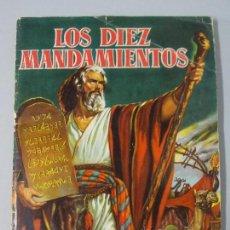 Coleccionismo Álbum: LOS DIEZ MANDAMIENTOS, EDITORIAL BRUGUERA AÑO 1959, ALBUM COMPLETO... L121. Lote 171105434