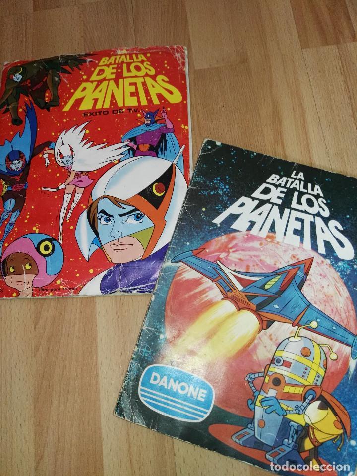 LOTE DOS ALBUMES DE 'LA BATALLA DE LOS PLANETAS' (Coleccionismo - Cromos y Álbumes - Álbumes Completos)
