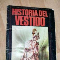 Coleccionismo Álbum: ALBUM CROMOS 'LA HISTORIA DEL VESTIDO' .. Lote 171258178