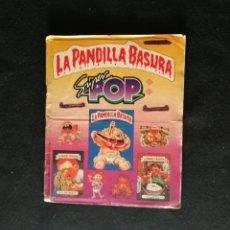 Coleccionismo Álbum: ALBUM CASI COMPLETO PANDILLA BASURA 'GARBAGE PAIL KIDS' SUPER POP '14 CROMOS DE OTRA COLE' RARO !. Lote 171317725