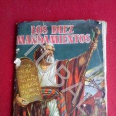 Coleccionismo Álbum: TUBAL LOS DIEZ MANDAMIENTOS ALBUM DE CROMOS FALTAN LOS QUE SE VEN. Lote 171415083