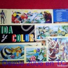 Coleccionismo Álbum: TUBAL VIDA Y COLOR ALBUM DE CROMOS FALTAN LOS QUE SE VEN. Lote 171415247