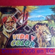Coleccionismo Álbum: TUBAL VIDA Y COLOR 2ª EDICION ALBUM DE CROMOS FALTAN LOS QUE SE VEN. Lote 171415543