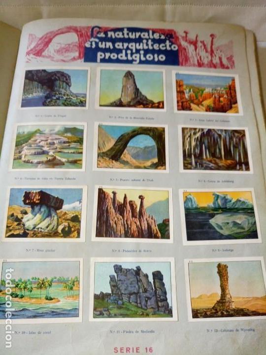 Coleccionismo Álbum: ~~~~ LAS MARAVILLAS DEL MUNDO NESTLÉ, 40 SERIES COMPLETO, BUEN ESTADO .~~~~ - Foto 4 - 171438875