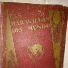 Coleccionismo Álbum: ~~~~ LAS MARAVILLAS DEL MUNDO NESTLÉ, 40 SERIES COMPLETO, BUEN ESTADO .~~~~. Lote 171438875
