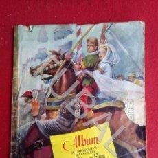 Coleccionismo Álbum: TUBAL EL HALCON Y LA FLECHA ALBUM DE CROMOS MUY ANTIGUO COMPLETO EDICIONES CLIPER. Lote 171457438