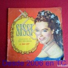 Coleccionismo Álbum: TUBAL SISSI ALBUM DE CROMOS MUY ANTIGUO COMPLETO EDITORIAL BRUGUERA. Lote 171457799