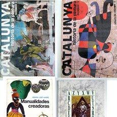 Coleccionismo Álbum: 2 ALBUM HISTORIA DE LA PINTURA 1 Y 2. REGALO 2 LIBROS. RUBENS MIRO KLIMT PICASSO MATISSE VELAZQUEZ. Lote 171480527