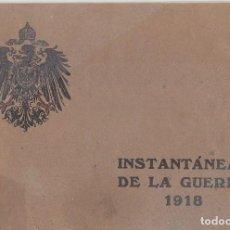 Coleccionismo Álbum: INSTANTÁNEAS DE LA GUERRA 1918. NÚMERO 6.. Lote 171496382