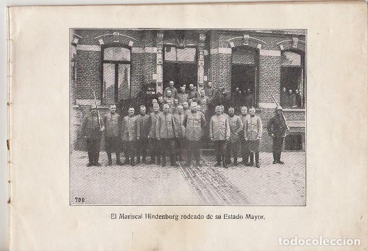 Coleccionismo Álbum: INSTANTÁNEAS DE LA GUERRA 1918. Número 6. - Foto 3 - 171496382
