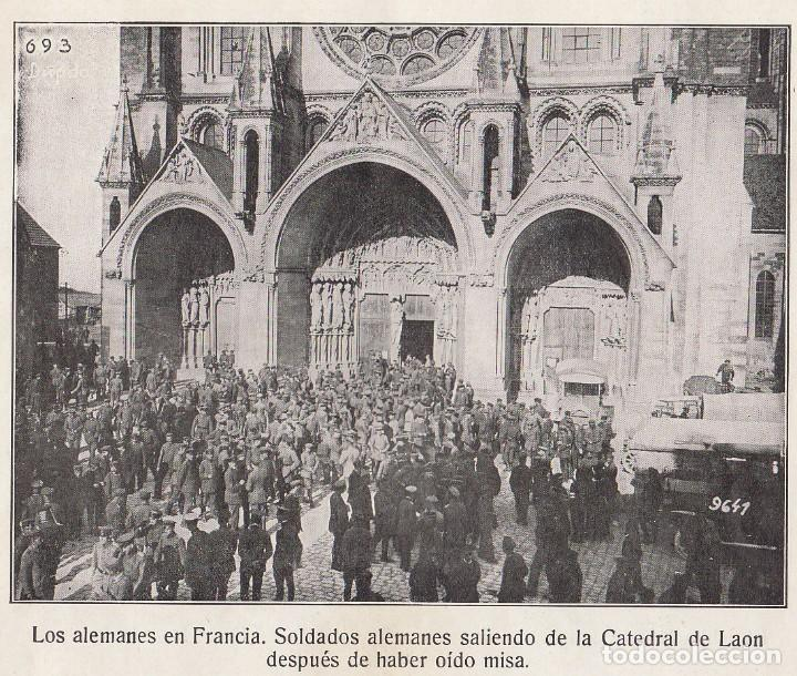 Coleccionismo Álbum: INSTANTÁNEAS DE LA GUERRA 1918. Número 6. - Foto 5 - 171496382