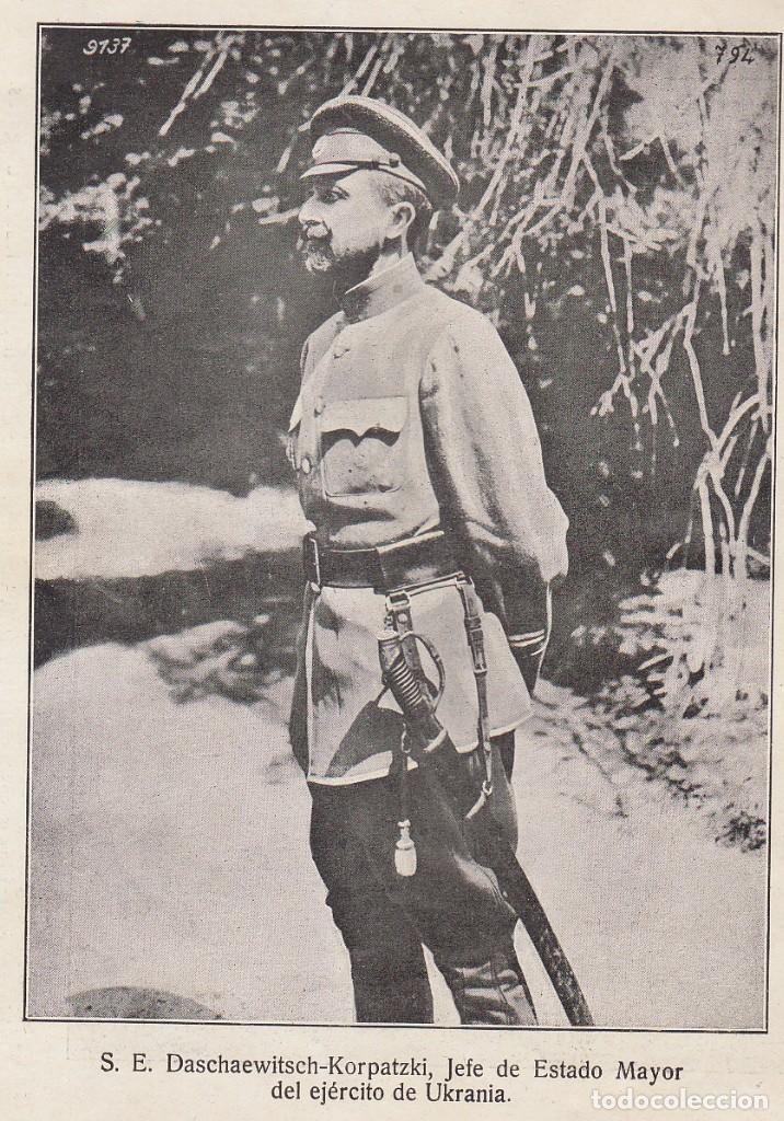 Coleccionismo Álbum: INSTANTÁNEAS DE LA GUERRA 1918. Número 6. - Foto 6 - 171496382