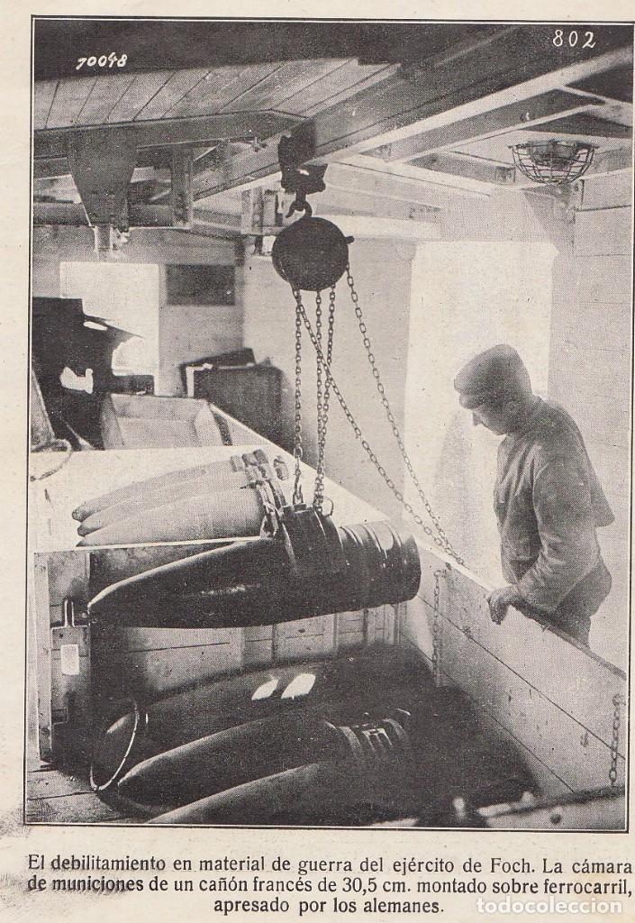 Coleccionismo Álbum: INSTANTÁNEAS DE LA GUERRA 1918. Número 6. - Foto 7 - 171496382