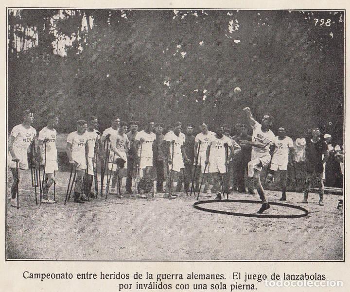 Coleccionismo Álbum: INSTANTÁNEAS DE LA GUERRA 1918. Número 6. - Foto 8 - 171496382