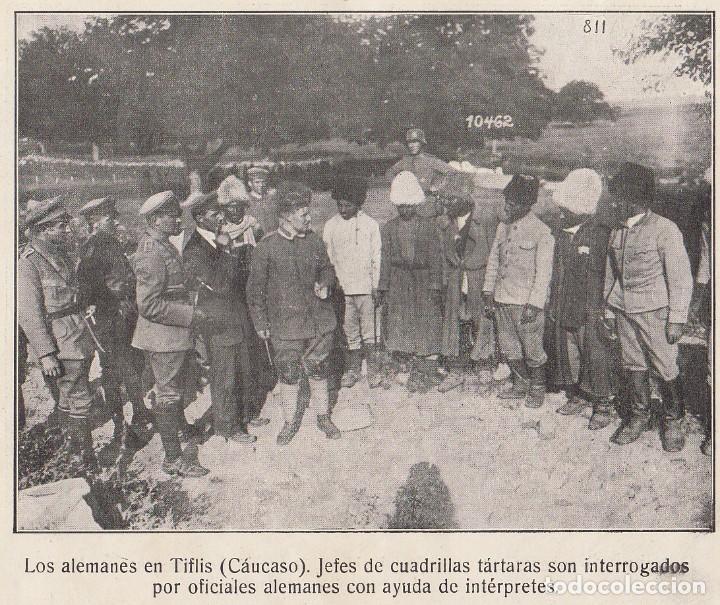 Coleccionismo Álbum: INSTANTÁNEAS DE LA GUERRA 1918. Número 6. - Foto 9 - 171496382