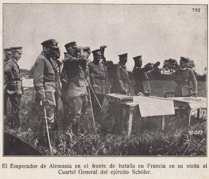 Coleccionismo Álbum: INSTANTÁNEAS DE LA GUERRA 1918. Número 6. - Foto 10 - 171496382