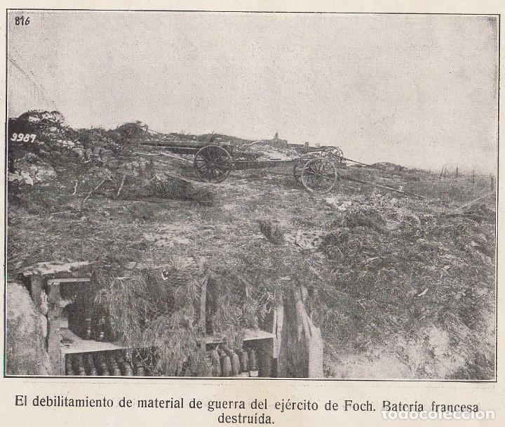 Coleccionismo Álbum: INSTANTÁNEAS DE LA GUERRA 1918. Número 6. - Foto 11 - 171496382