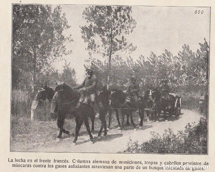 Coleccionismo Álbum: INSTANTÁNEAS DE LA GUERRA 1918. Número 6. - Foto 12 - 171496382