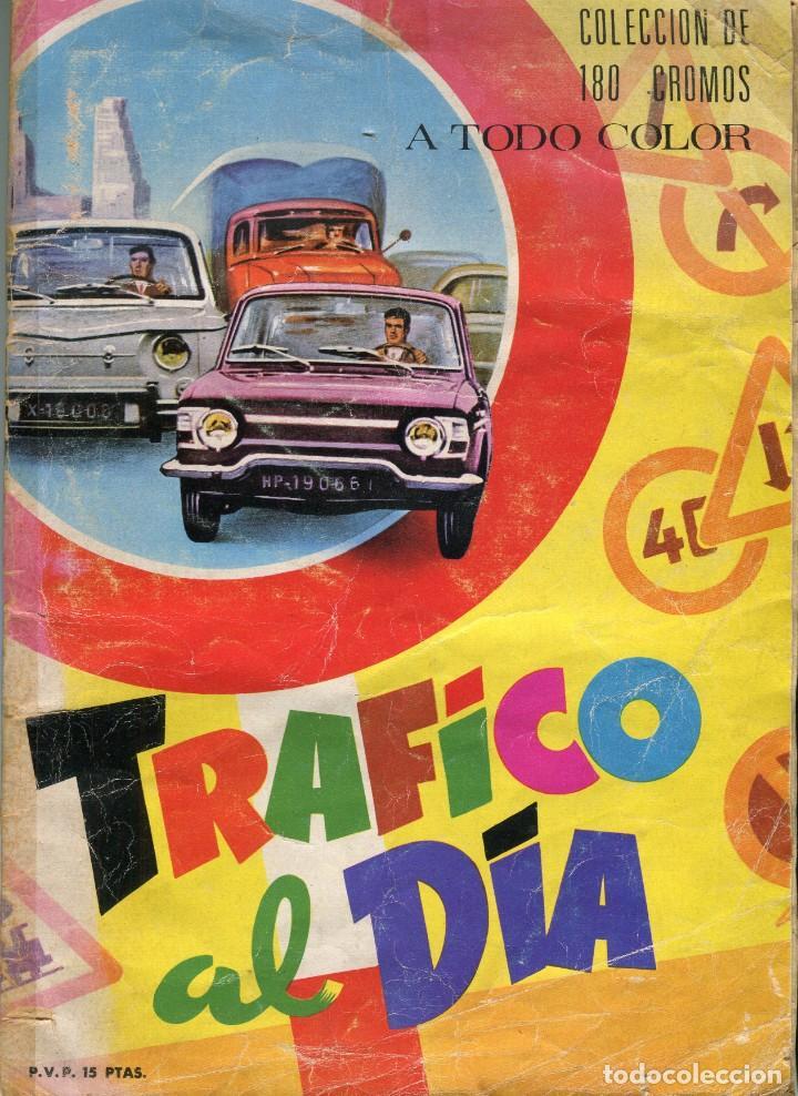 TRAFICO AL DIA 180 CROMOS (ALBUM COMPLETO) EDICIONES ARTIFI (HOSPITALET DE LLOBREGAT) AÑOS 70 (Coleccionismo - Cromos y Álbumes - Álbumes Completos)