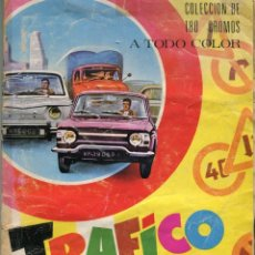 Coleccionismo Álbum: TRAFICO AL DIA 180 CROMOS (ALBUM COMPLETO) EDICIONES ARTIFI (HOSPITALET DE LLOBREGAT) AÑOS 70. Lote 171976648