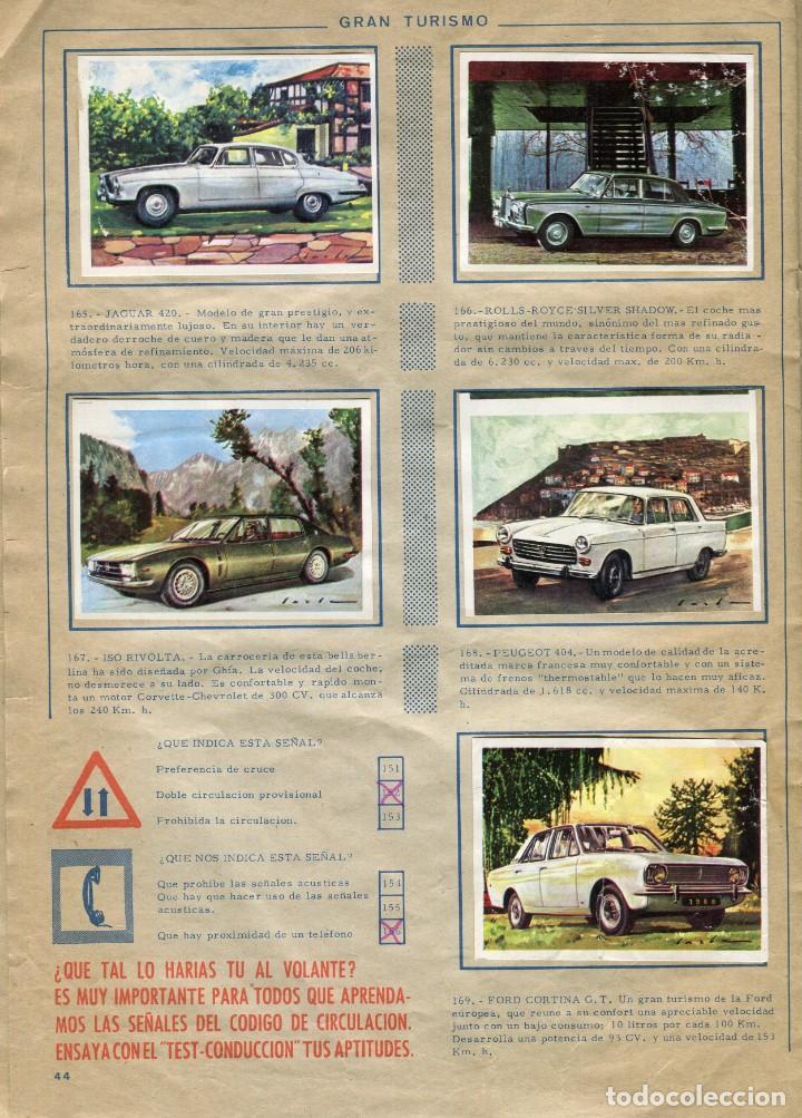 Coleccionismo Álbum: TRAFICO AL DIA 180 CROMOS (ALBUM COMPLETO) EDICIONES ARTIFI (HOSPITALET DE LLOBREGAT) AÑOS 70 - Foto 2 - 171976648