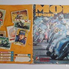 Coleccionismo Álbum: PANINI - MOTO SPORT - ALBUM COMPLETO. Lote 172001122