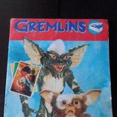Coleccionismo Álbum: GREMLINS - EDITORIAL PANINI 1984 - ALBUM DE CROMOS COMPLETO. Lote 179553606