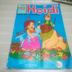 Coleccionismo Álbum: ALBUM COMPLETO HEIDI FHER S/A CON 210 CROMOS MIREN FOTOS . Lote 172033158