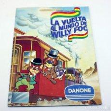 Coleccionismo Álbum: LA VUELTA AL MUNDO EN 80 DIAS - DANONE - ALBUM CROMOS COMPLETO WILLY FOG. Lote 194729318