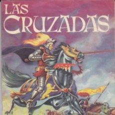 Coleccionismo Álbum: ALBUM COMPLETO LAS CRUZADAS EDITORIAL RUIZ ROMERO. Lote 172297250