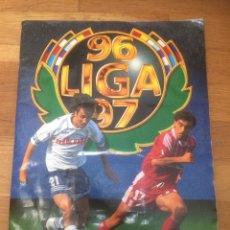Coleccionismo Álbum: ÁLBUM DE CROMOS CAMPEONATO NACIONAL DE LIGA 1996/97 PRIMERA DIVISION - 539 CROMOS - COLECCIONES ESTE. Lote 172763209