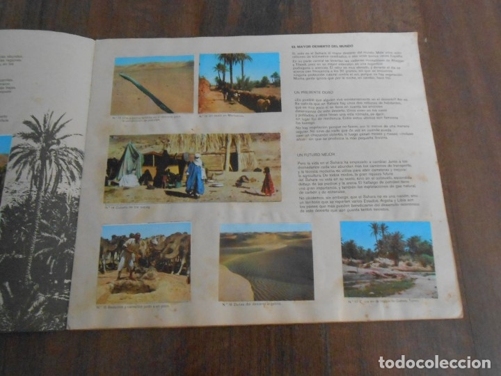 Coleccionismo Álbum: ALBUM CROMOS COMPLETO AFRICA EL MUNDO CONTINENTES LECHE RAM ALBUN alfreedom - Foto 2 - 172843427