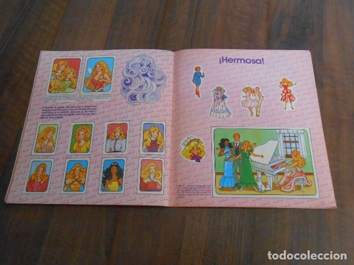 Coleccionismo Álbum: ALBUM CROMOS COMPLETO BARBIE STICKER ALBUN BARBI DOLL MUÑECA alfreedom - Foto 4 - 172843633