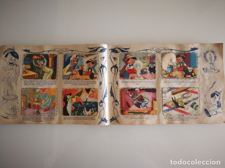 Coleccionismo Álbum: ALBUM PINOCHO FHER AÑOS 40 COMPLETO - Foto 13 - 172912089