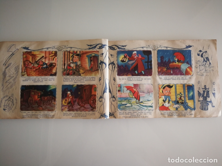 Coleccionismo Álbum: ALBUM PINOCHO FHER AÑOS 40 COMPLETO - Foto 19 - 172912089