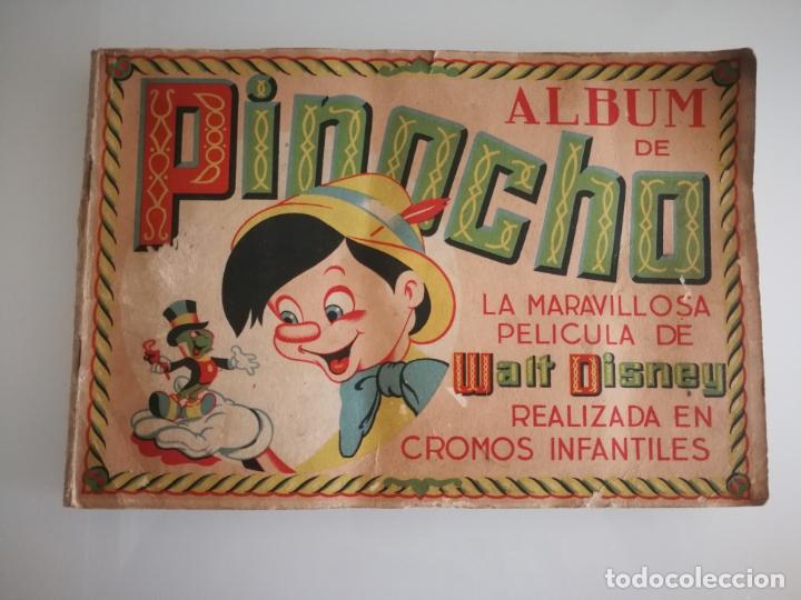 ALBUM PINOCHO FHER AÑOS 40 COMPLETO (Coleccionismo - Cromos y Álbumes - Álbumes Completos)