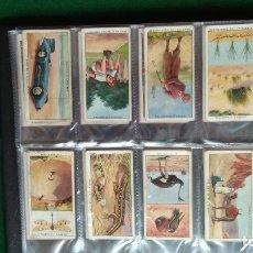Coleccionismo Álbum: CIGARETTE CARDS 50 CARTAS COMPLETO. Lote 173061424