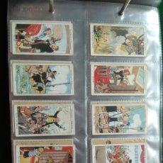 Coleccionismo Álbum: CIGARETTE CARDS 40 CARTAS COMPLETO. Lote 173061709