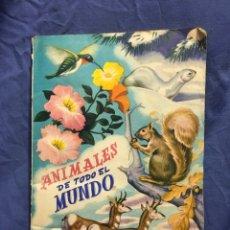 Coleccionismo Álbum: ALBUM 1950 FHER COMPLETO ANIMALES DE TODO EL MUNDO. REINO ANIMAL. 300 CROMOS.. Lote 173065403