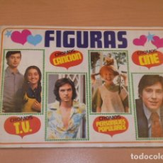 Coleccionismo Álbum: ALBUM DE 175 CROMOS FIGURAS TV. CANCION, CINE, PERSONAJES POPULARES COMPLETO - EDICIONES ESTE - -. Lote 173466094