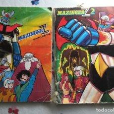 Coleccionismo Álbum: MAZINGER Z 1 Y 2, 1 FALTAN 7 CROMOS, 2 COMPLETO. Lote 173472959