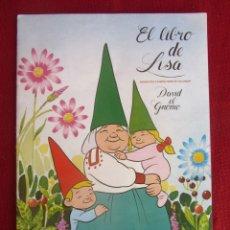 Coleccionismo Álbum: ALBUM EL LIBRO DE LISA. DAVID EL GNOMO. DANONE 1985. COMPLETO. Lote 173515413