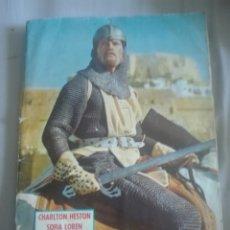 Coleccionismo Álbum: EL CID CAMPEADOR EDITORIAL FHER COMPLETO. Lote 173565752