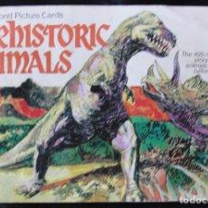 Coleccionismo Álbum: PREHISTORIC ANIMALS - BROOKE BOND - AÑOS 70 - ALBUM COMPLETO 50 CROMOS -. Lote 173593522